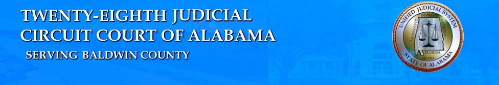 Baldwin County - Twenty-Eighth Circuit Court of Alabama